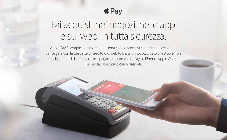 Apple、イタリアで「Apple Pay」のサービスの提供を開始
