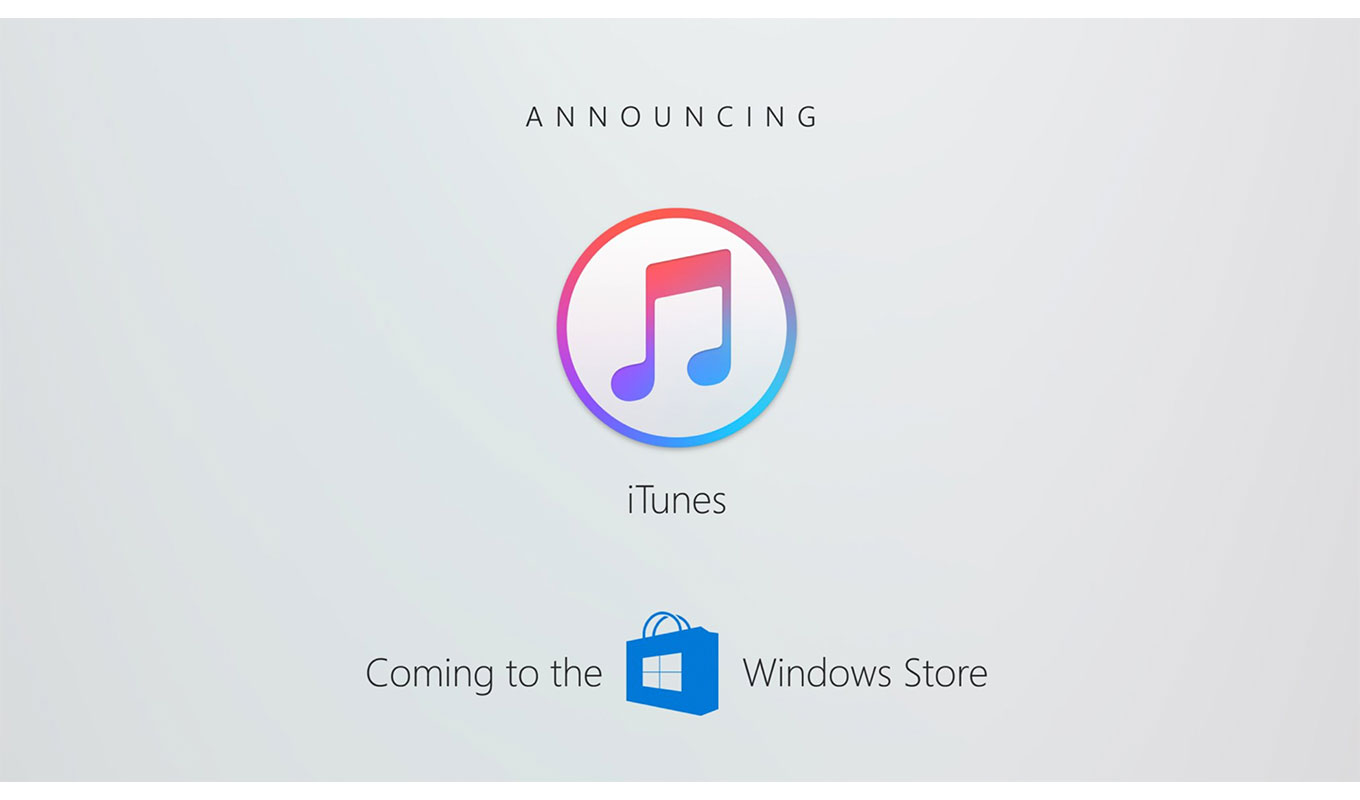 Apple、「iTunes」をWindows Storeで提供へ