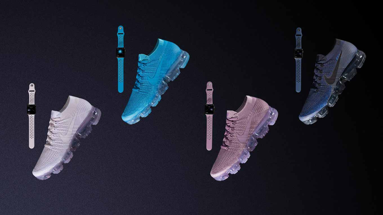 NIKE、オンラインストアで新しい4つのApple Watch用「Nike Sport Band」販売開始