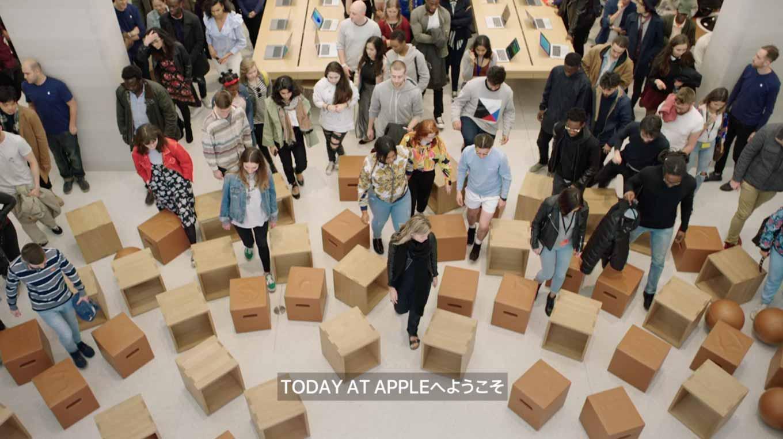 Apple、「Today at Apple」のプロモーション動画の日本語字幕版を公開