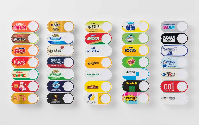 「Amazon Dash Button」にコーラなど70種類以上が追加 ー ラインアップは100ブランド以上に拡大