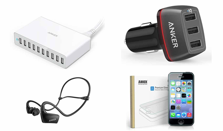 【最大25%オフ】Amazon、AnkerのUSB急速充電器や防水Bluetoothイヤホンなどをタイムセール価格で販売中(6/4 23時まで)