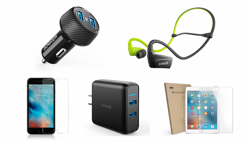 【最大37%オフ】Amazon、AnkerのUSB急速充電器やスポーツ用Bluetoothイヤホンなどをタイムセール価格で販売中(6/10 23時まで)