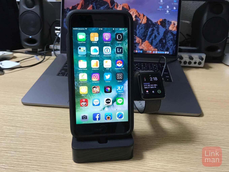【レビュー】ベルキン、「Powerhouse Charge Dock for Apple Watch + iPhone」ブラックモデルをチェック