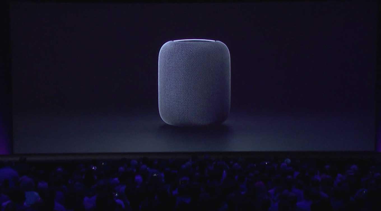 Apple、新しいスピーカー「HomePod」を発表