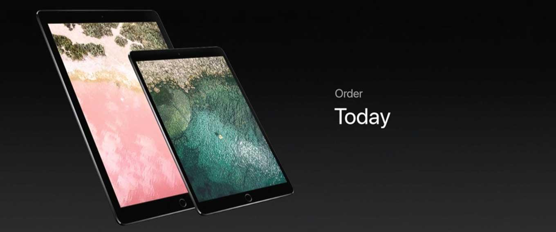 Apple、「10.5インチiPad Pro」と「12.9インチ iPad Pro」の注文受付を開始