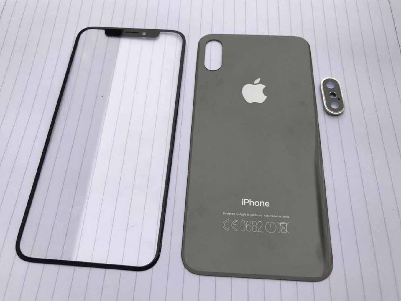 「iPhone 8」や「iPhone 7s」シリーズのフロントパネルやバックパネルとされるリーク画像!?