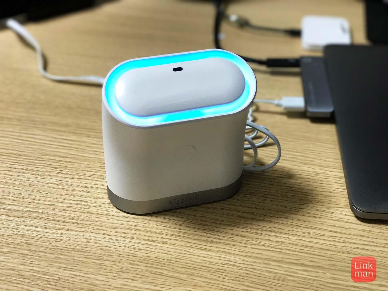 【レビュー】iPhoneなどをタッチするだけで接続できるWi-FIルーター「kisslink」をチェック