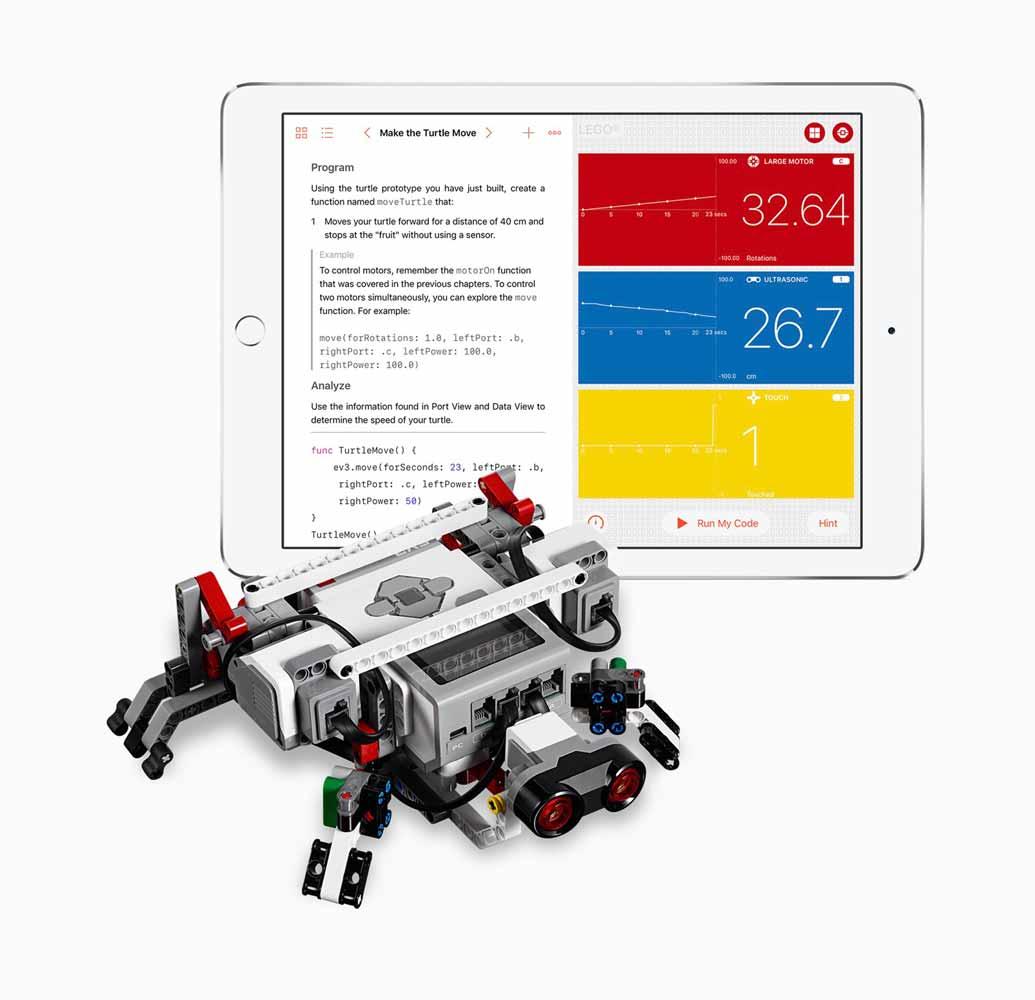 Apple、iPad向けアプリ「Swift Playgrounds 1.5」でロボット、ドローン、楽器を使ってプログラミングを学ぶことが可能に