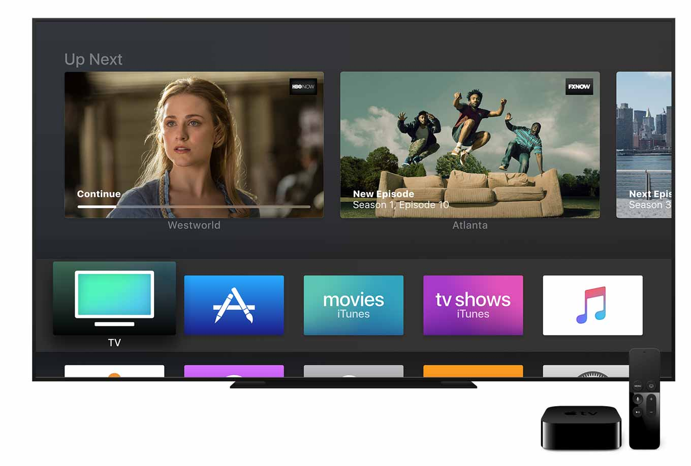 Apple、「tvOS 11 Public beta」の配信を開始