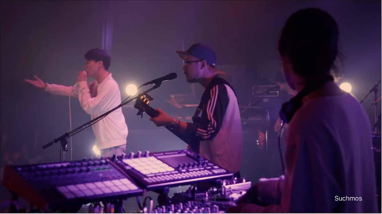 Apple Japan、Suchmosが出演する「Apple Music」のCM「俺らの夏がここにある」を公開