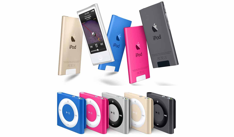 Apple、「iPod nano」と「iPod shuffle」の販売を終了、公式サイトから製品ページを削除