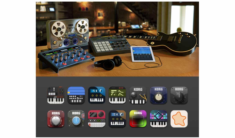 KORG、iOS向け音楽制作アプリが最大50%オフとなる「スペシャル・サマー・セール」実施中