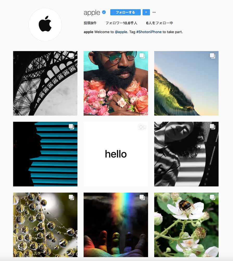 Appleinstagram