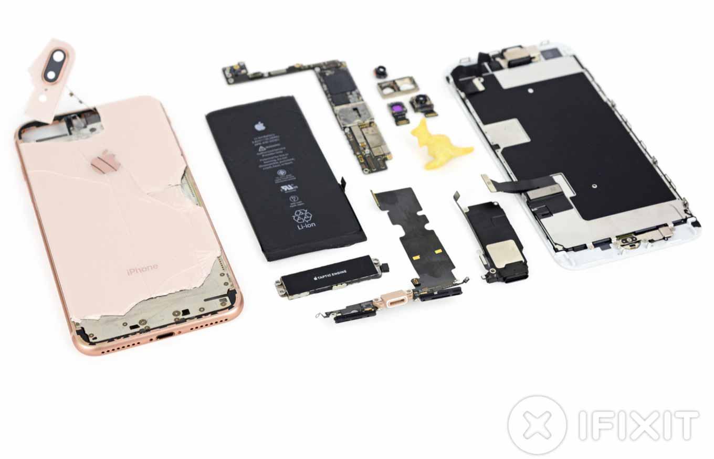 iFixit、「iPhone 8 Plus」のバラシレポートを公開