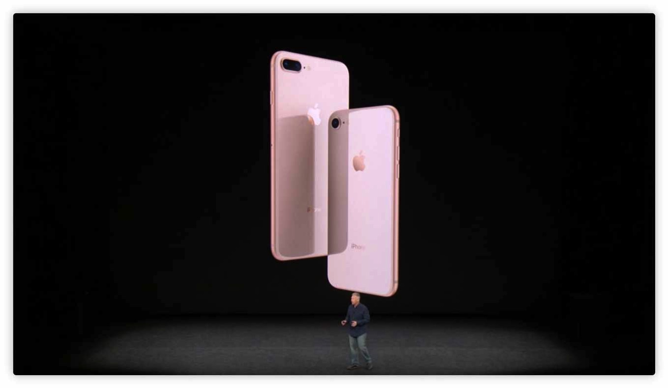 Apple、「iPhone 8」「iPhone 8 Plus」を発表