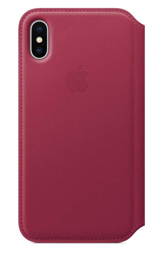 Apple、「iPhone X」向け純正レザーケースとシリコンケースを発表