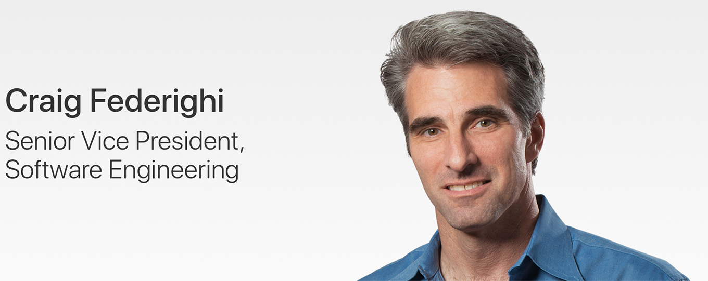 AppleのCraig Federighi氏、「このシーズンのKeynoteはすべて終わった」と述べる