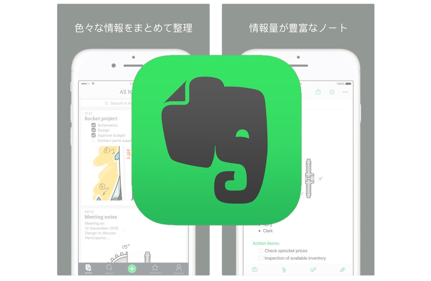 Evernote、iPadでドラッグ&ドロップに対応したiOSアプリ「Evernote 8.6」リリース
