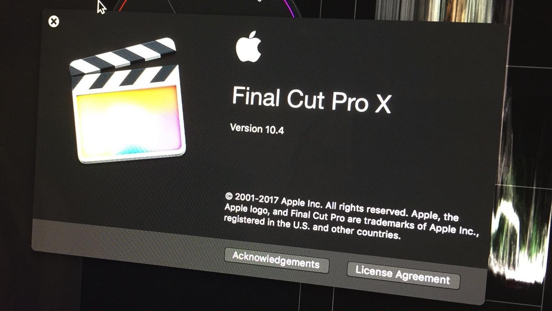 Apple、Mac向け動画編集アプリ「Final Cut Pro 10.4」を年内リリースへ ― HEVCやVRのサポートなど