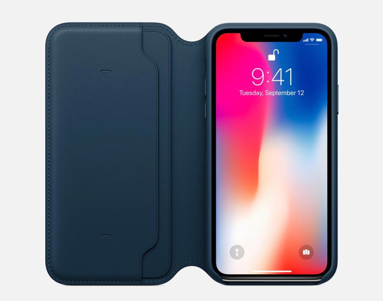 Apple、「iPhone X」向け純正ケース3種類の販売を開始