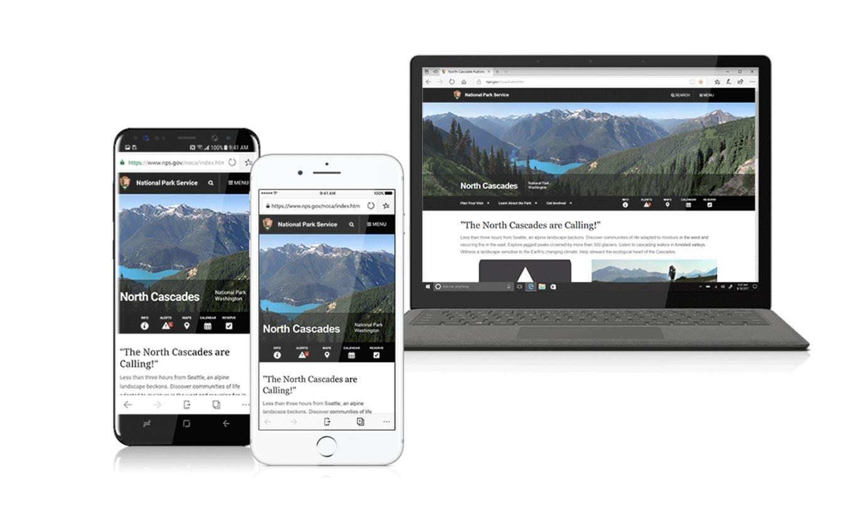 Microsoft、ブラウザアプリ「Microsoft Edge for iOS」を発表