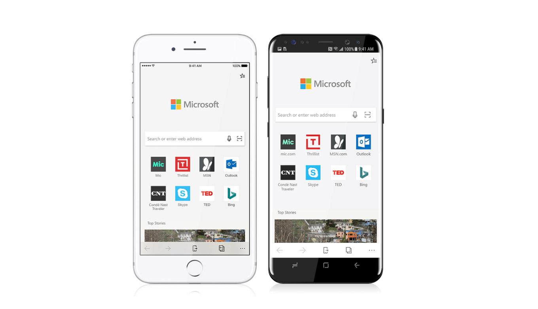 Microsoft、「Microsoft Edge for iOS」のプレビュー版を誰でも利用可能に