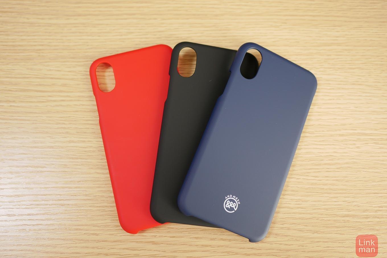 【レビュー】AndMeshのiPhone X専用ケース「AndMesh Basic Case for iPhone X」をチェック