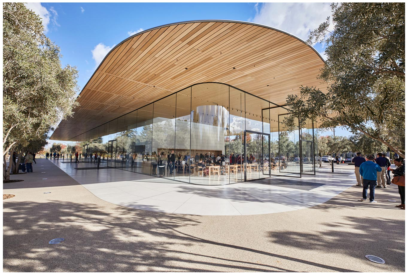 Apple、新社屋「Apple Park」に併設の「Apple Park Visitor Center」が正式オープン