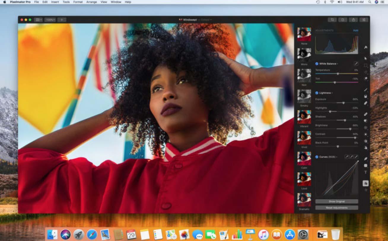 Pixelmator Team、Mac用の新しい画像編集アプリ「Pixelmator Pro」リリース
