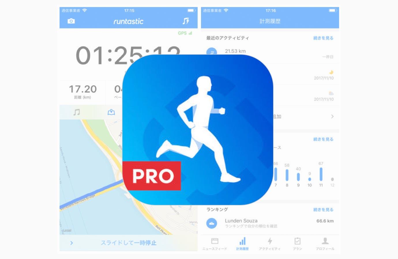 iOSアプリ「Runtastic PRO ランニング&ウォーキング」がアップデートで全面的にリニューアル、iPhone Xの画面にも対応