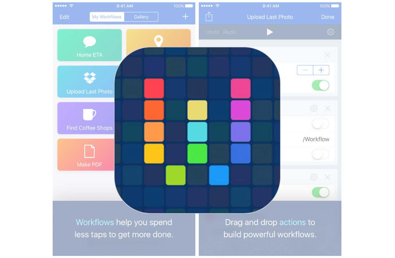 Apple、iPhone XとiOS 11に対応したiOSアプリ「Workflow 1.7.7」リリース