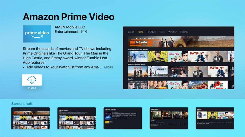 Amazon、アメリカでApple TV向けに「Amazon プライム・ビデオ」アプリの提供開始