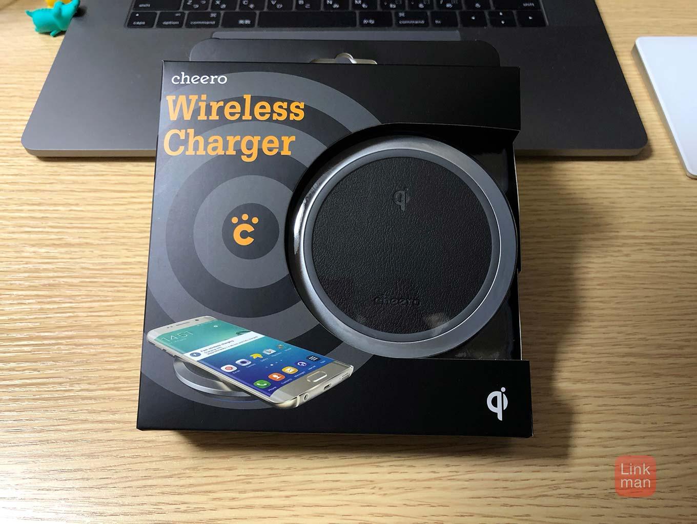 【レビュー】「iPhone X/8/8 Plus」で使えるcheeroのQi対応ワイヤレス充電器「cheero Wireless Chager」をチェック