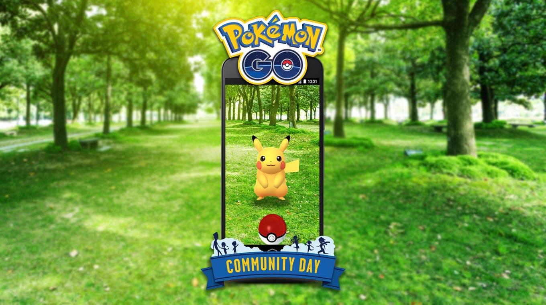 【ポケモンGO】「Pokémon GO コミュニティ・デイ」を毎月開催 ― 初回は「なみのり」を覚えたピカチュウが登場