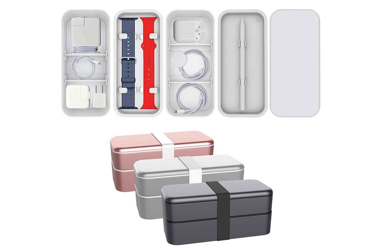フォーカルポイント、お弁当箱をモチーフにしたAppleアクセサリ用スタッキング収納ケース「BENTO STACK」を発売へ