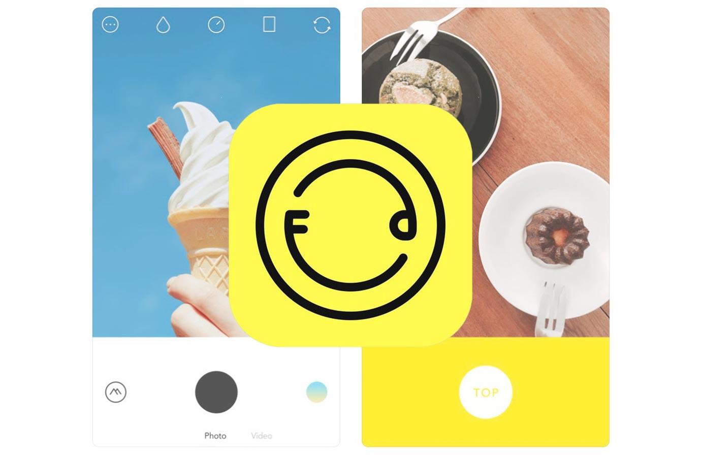 iOS向けカメラアプリ「Foodie」がアップデートで「iPhone X」に対応