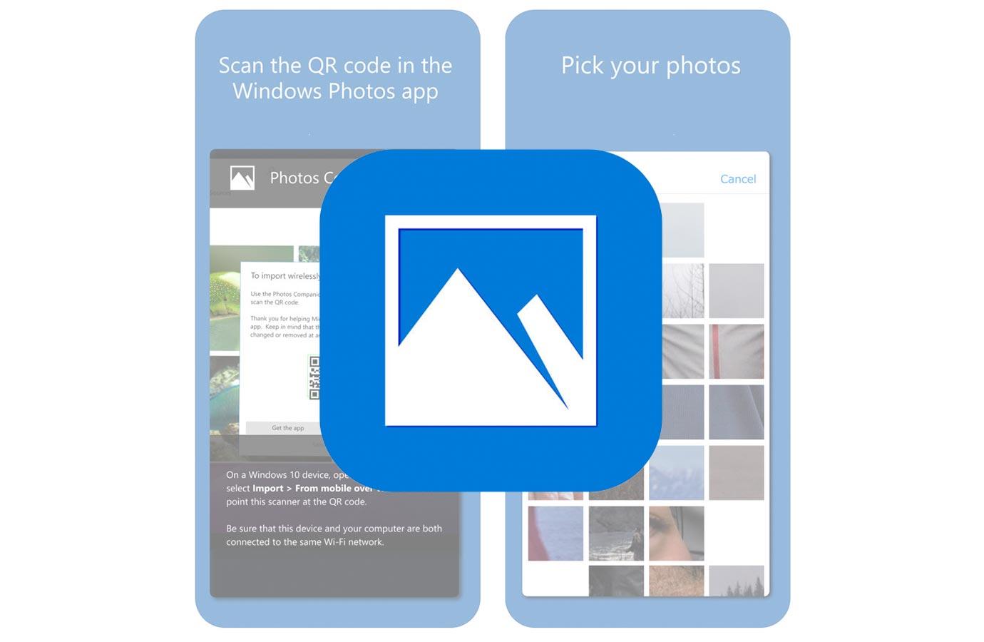 Microsoft、iOS向けアプリ「Photos Companion」リリース ― PCに写真を転送するためのアプリ