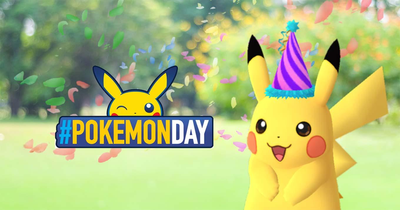 【ポケモンGO】ポケモン誕生の日を記念して、とんがり帽子を被った「ピカチュウ」が期間限定で登場