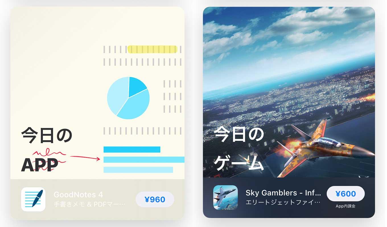 App Store、「Today」ストーリーの「今日のAPP」でiOSアプリ「GoodNotes 4」をピックアップ(2/19)