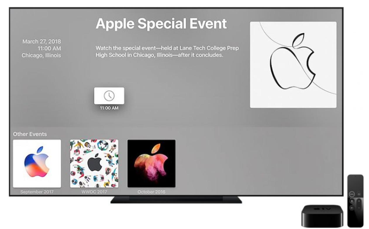 Apple、3月27日のスペシャルイベントはライブストリーミングを実施しない見込み
