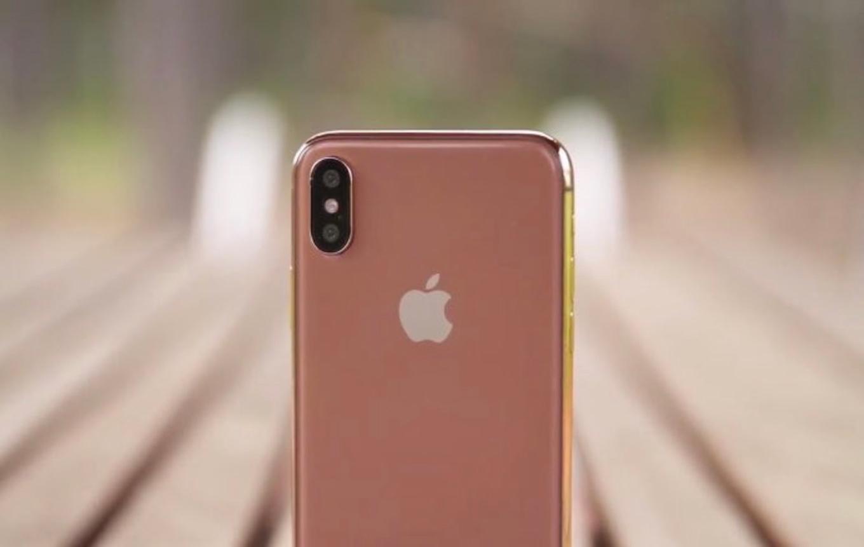 「iPhone X」に新色「Blush Gold」が追加される!?