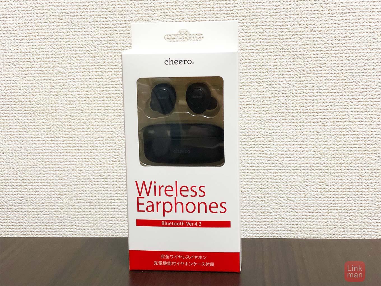 【レビュー】cheero、完全ワイヤレスイヤホン「cheero Wireless Earphones」をチェック