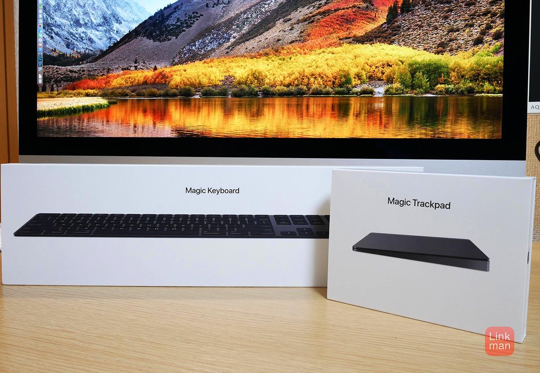 【レビュー】スペースグレイの「Magic Keyboard(テンキー付き)」「Magic Trackpad 2」をチェック
