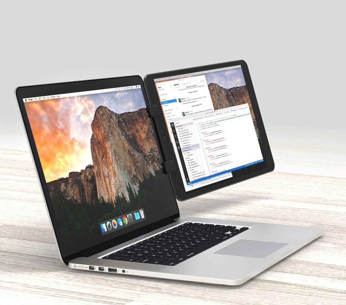 フォーカルポイント、MacBookシリーズにiOSデバイスを取り付けられるマウント「Ten One Design Mountie+」の販売を開始