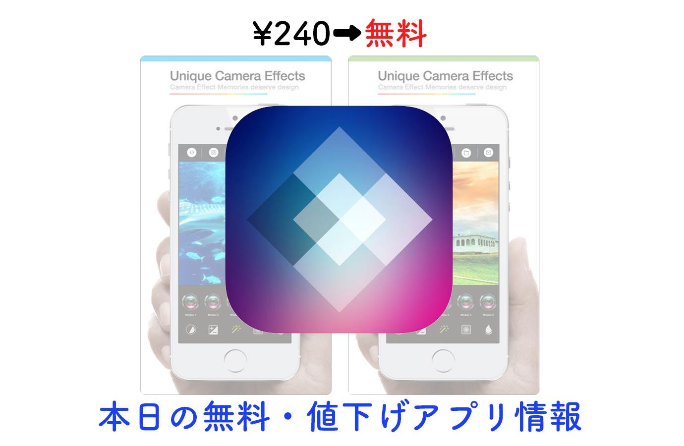 240円→無料、高機能写真加工アプリ「Perfect Studio」など【4/21】セールアプリ情報