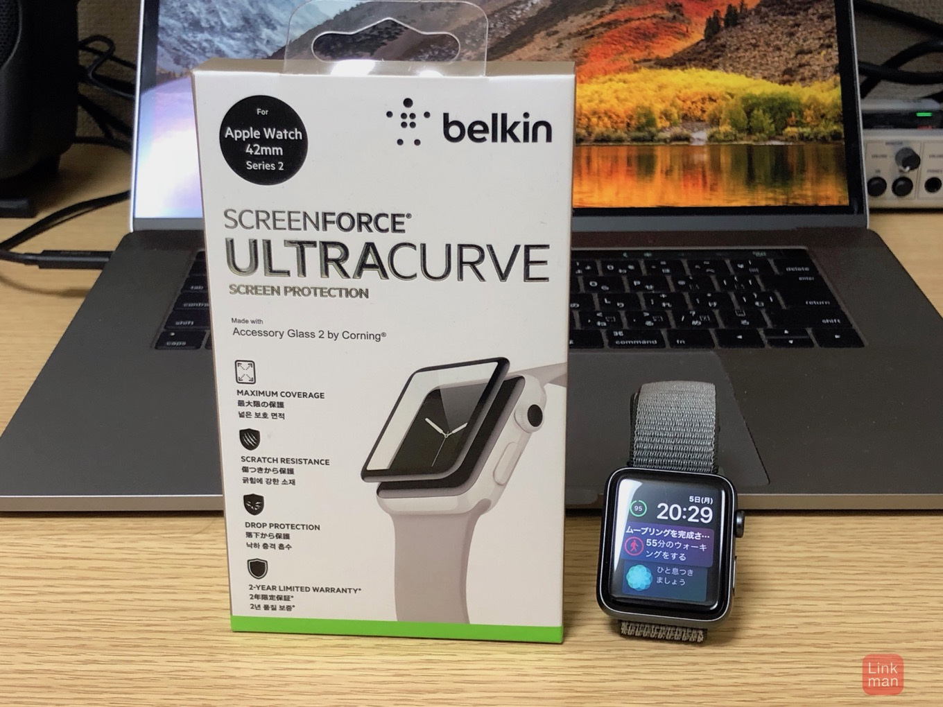 belkin ScreenForce UltraCurveスクリーンプロテクター1