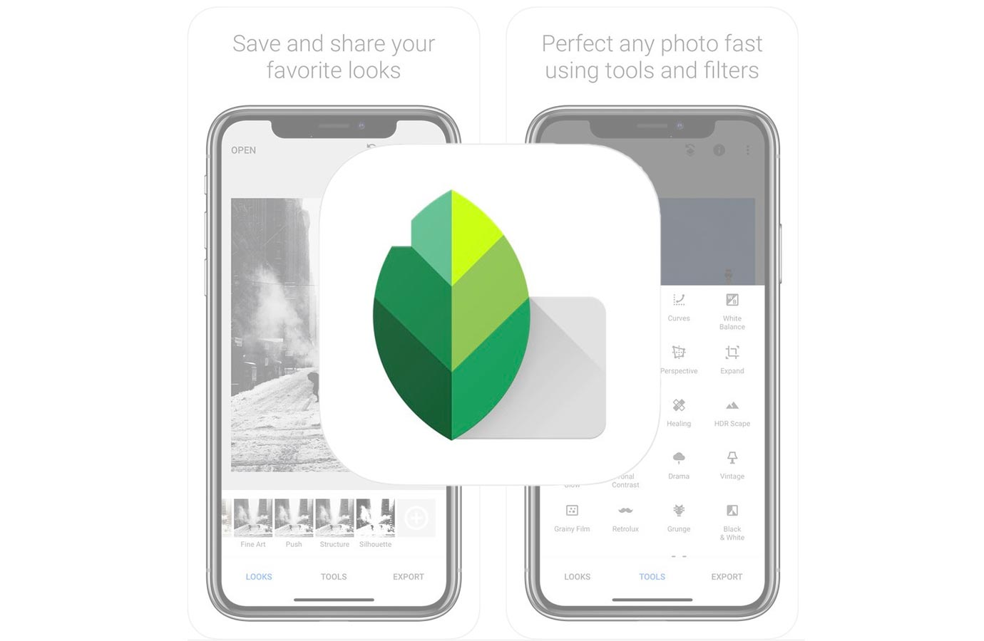 Google、iOS向け写真編集アプリ「Snapseed 2.18.1」リリース ―  やっとiPhone Xに対応