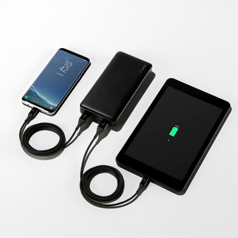 ベルキン、15,000mAhの大容量を搭載したモバイルバッテリー「Pocket Power 15Kパワーバンク」を発表