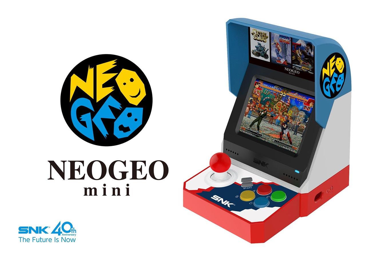 「NEOGEO mini」7月24日に発売決定 ー Amazonで予約受付開始